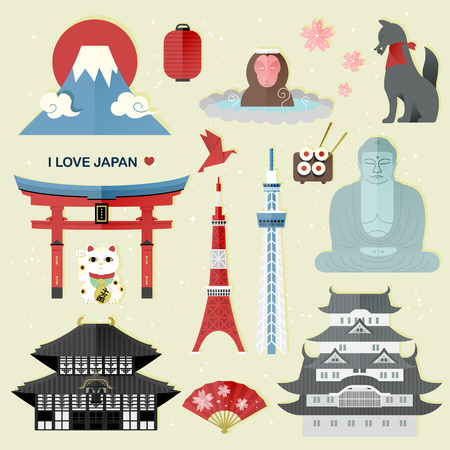 lucky money: exquisite Japan travel collections set - Money in Japanese words on lucky cat
