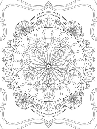 plum flower: lovely plum flower floral coloring page in exquisite line