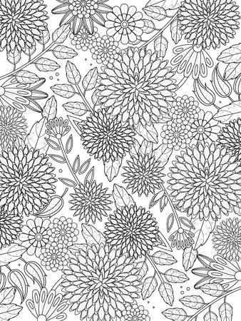 piękny Strona Hortensja kolorystyka w znakomity linii
