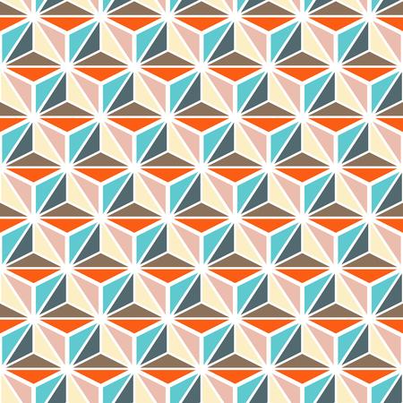 endlos: Bunte nahtlose Muster Hintergrund der geometrischen abstrakten Textur