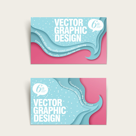 business card template: creative business card template design with tide and beach