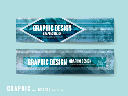 lavish: lavish banner template design set with polygon background