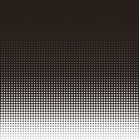 Simplicity dotted pattern design in halftone style