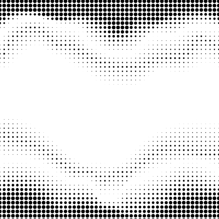 mesh texture: Abstract dotted pattern design on white background. Wavy pattern.