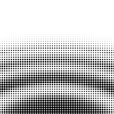 ripple: Abstract dotted pattern design on white background. Ripple shape. Illustration