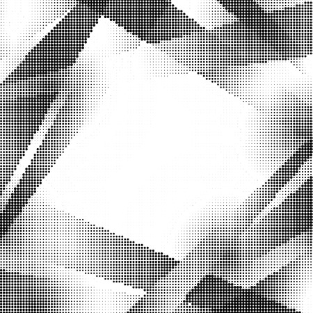 fade: Abstract dotted pattern design on white background Illustration