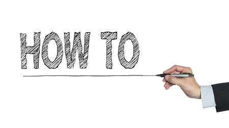 hoe je met de hand geschreven, met de hand schrijven op transparante boord, foto