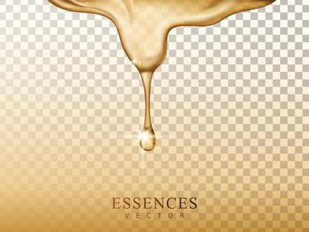 herbal essences element, 3d illustration vector, transparent background