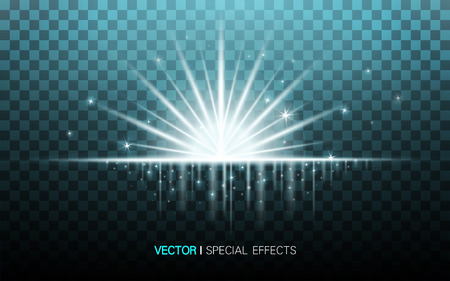 concentrating: turquoise light glowing in the middle of the background, 3d illustration transparent background