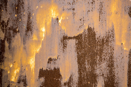 Rusty metal texture, close up look of old metal background for design Stock Photo