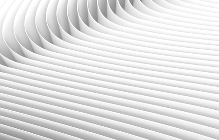 sheets of paper: 3D rendering wavy paper sheets, paper texture background for design Stock Photo