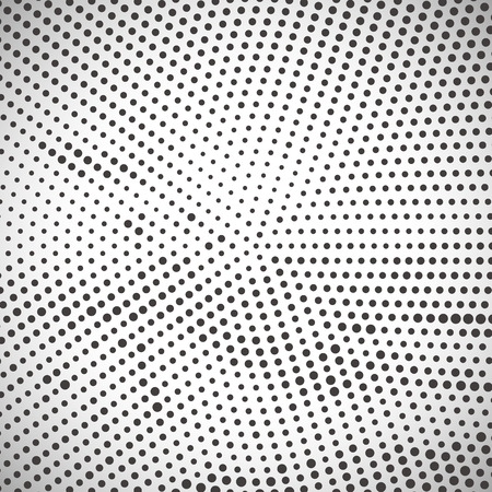 round shape: Abstract halftone pattern design in beige and brown. Round shape background.