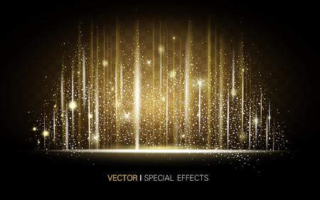 arcane: metallic golden luster background, can be used as special effect elements