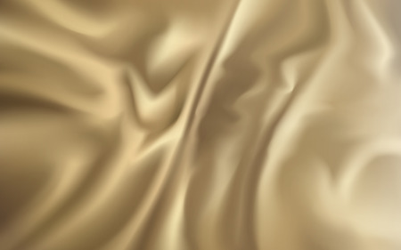 wrinkled: wrinkled golden fabric element, can be used as background