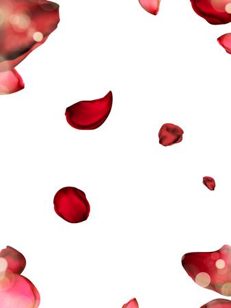 花の花弁の要素、背景、3 d イラストとして使用することができます。  イラスト・ベクター素材