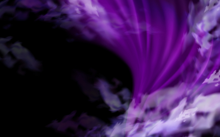 purple mana and smoke element for design uses, black background