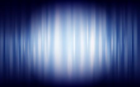 splendid: blue silk background with spotlight, 3d illustration