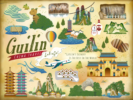 sights: Guilin travel collections of famous attractions and specialties
