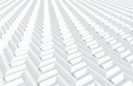 White geometric background, 3d render Prism triangle shapes pattern Zdjęcie Seryjne