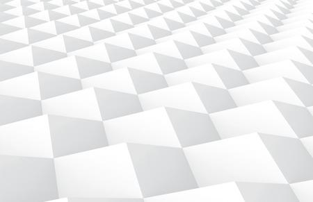White tilt cubes background, 3d render geometric patterns for decoration 版權商用圖片