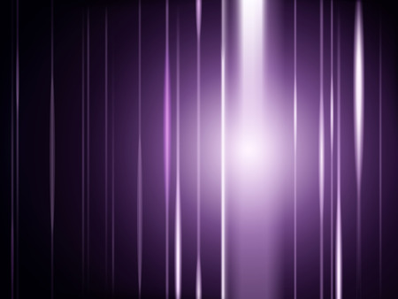 Light rays purple background, glowing special effect for design uses in 3d illustration. Vettoriali