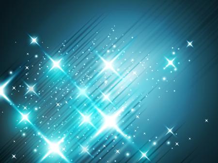Glittering star dust background, decorative wallpaper for design uses.
