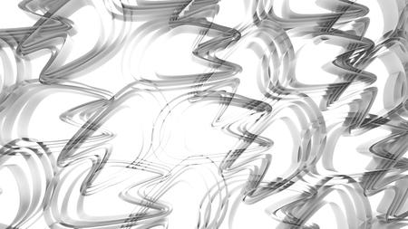 Ondulado, 3d, render, fundo, topo, vista, de, curvar linhas, composto, de, abstratos, padrão, em, branca, e, cinzento Foto de archivo - 94251815