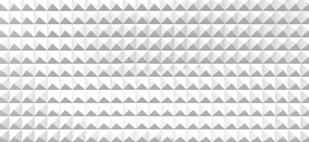 Geometric grid background, white 3d render triangle pattern for design uses Banco de Imagens - 94220843