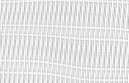 Blank fiber surface, interlaced structure pattern in 3d render, twilled dutch Foto de archivo - 97269559
