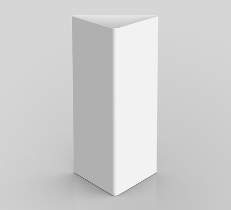blank table tent 3d render table card mockup for design uses