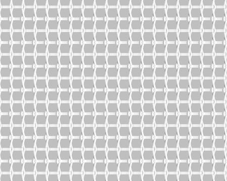 Blank microfiber surface, white fiber textile and structure in 3d render, leno weave Foto de archivo - 97269798