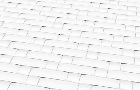 Blank fiber surface, interlaced structure pattern in 3d render Foto de archivo - 97270010