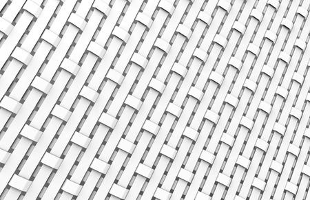 Blank fiber surface, crowfoot satin weave pattern in 3d render Foto de archivo - 97269921
