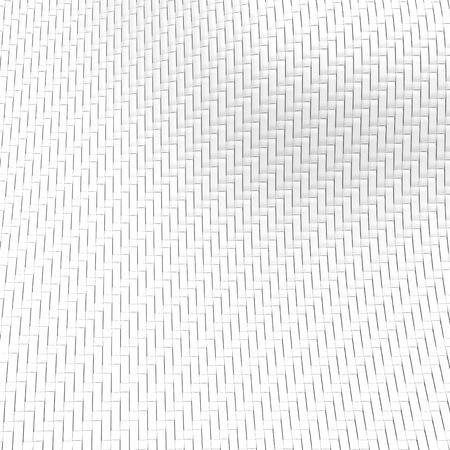 3Dレンダーファイバー、デザイン用ファブリックテキスタイル構造、トップビュー