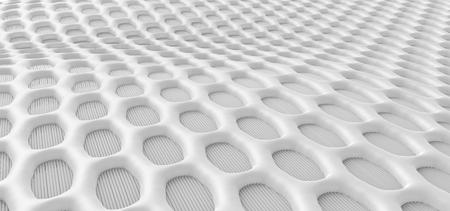 Mesh knitted fabric, 3d render weaving fiber for design uses, closeup look