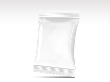 Blank snack package design