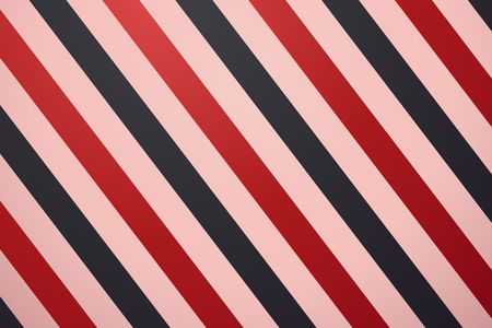 Retro striped background in red and black