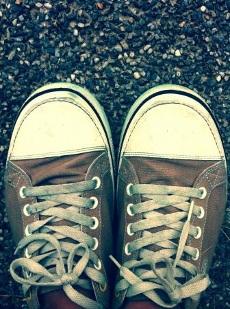 zapatos escolares: Zapatos Old School