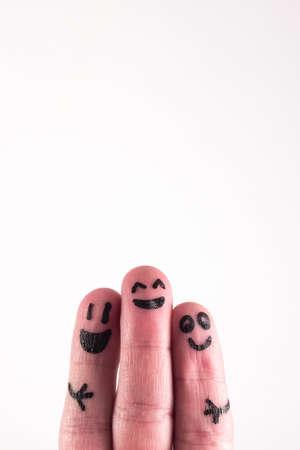 three fingers: three fingers three old friends