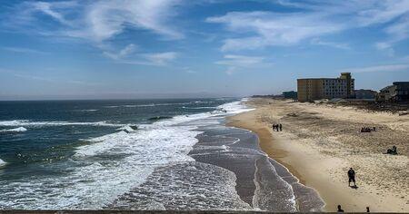 The coastal line
