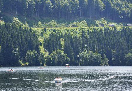 destress: Power Boat, Lake Titisee