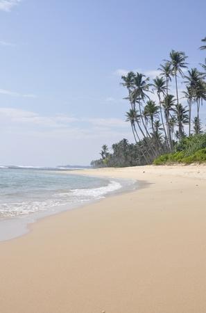 A bright sunny day at the beach at Polhena, Sri Lanka Stock Photo - 12632139