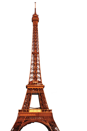 The Eiffel Tower Isolated photo