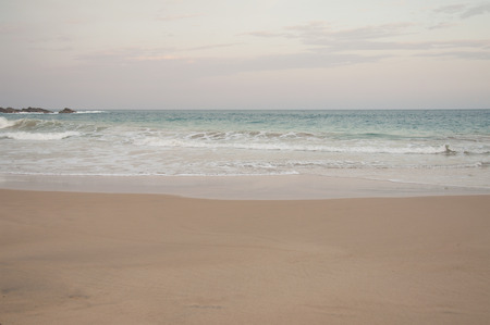 tangalle: A beautiful evening at the beach in Tangalle, Sri Lanka