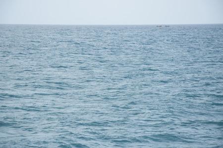 andaman sea: Two Boats Sailing in the Andaman Sea