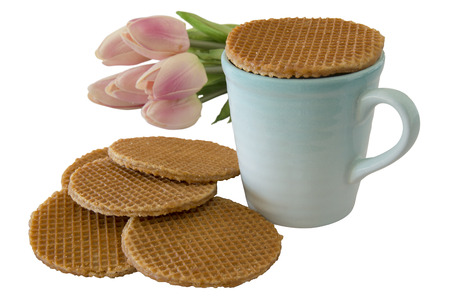 Caramel Stroopwafels and Coffee