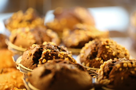 Raisin and Chocolate Muffin, Pastries, Pastry and Bakery