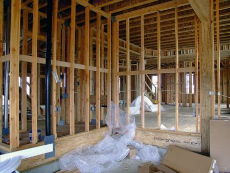 new construction - inside framing