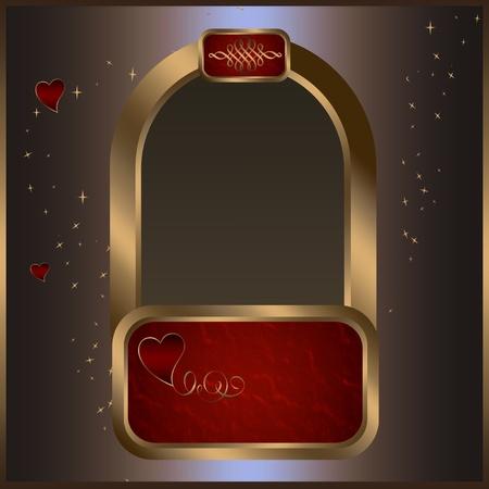 coverbook: Biglietto d'auguri di San Valentino.