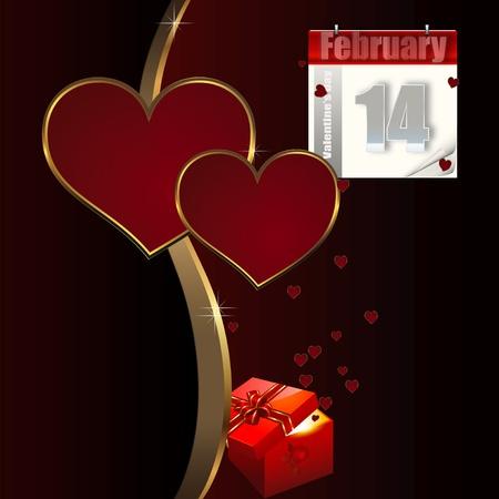 Valentines day background. photo